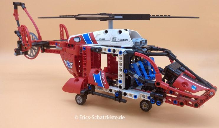 Lego® 8068 Technic Rescue Helicopter Rettungshubschrauber (Get it @ PLAY-BAY.de)