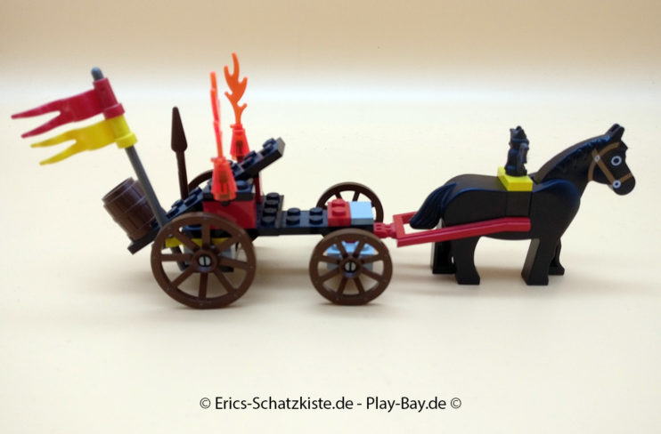 Lego® 6027 Steinschleuder-Fuhrwerk Batlords Catapult (Get it @ PLAY-BAY.de)