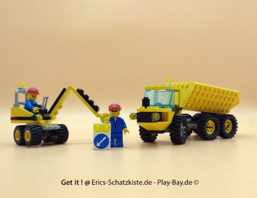 Lego® 6581 Schwerer Muldenkipper Dig 'n dump (Get it @ PLAY-BAY.de)