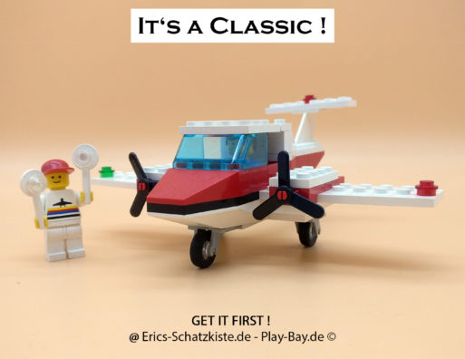 Lego® 6687 [Classic} Turbo Prop Propellerflugzeug (Get it @ PLAY-BAY.de)