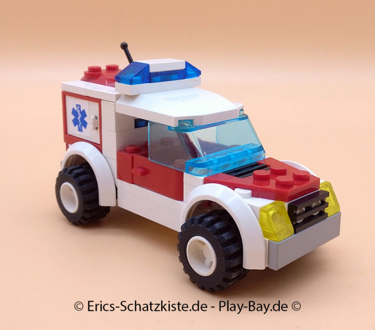 Lego® 7902 Notarztwagen Doctors car (Get it @ PLAY-BAY.de)