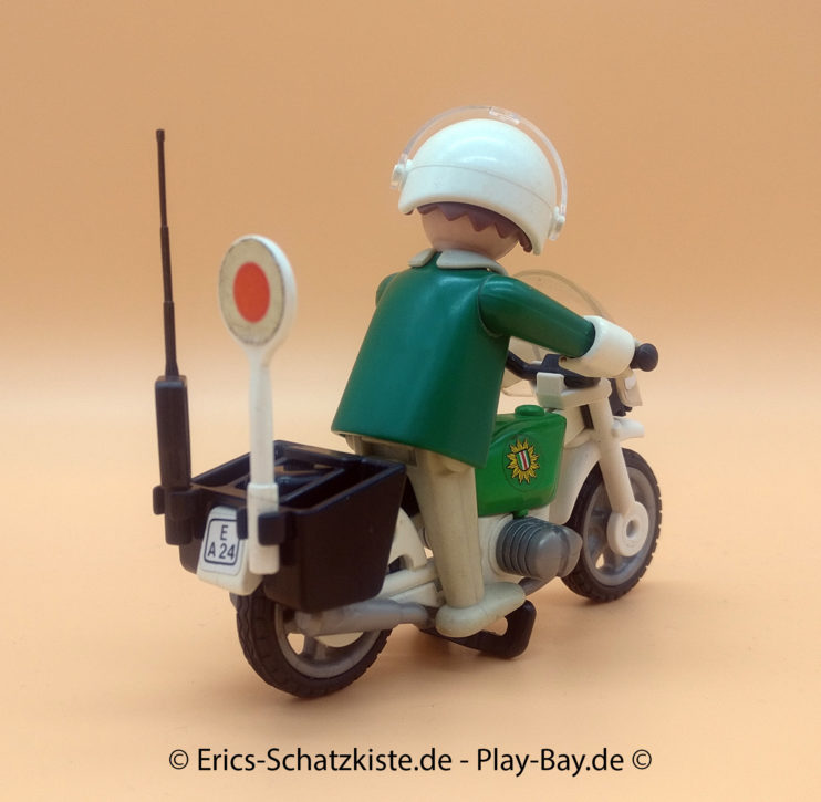 Playmobil® 3564 Motorrad-Polizist(Grt it @ PLAY-BAY.de)