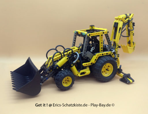 Lego® 8455 [Technic] Pneumatik-Bagger Back-hoe Loader (Get it @ PLAY-BAY.de)