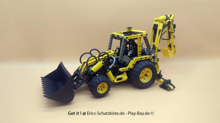 Lego® 8455 [Technic] Pneumatik-Bagger Back-hoe Loader (Get it @ PLAY-BAY.de)