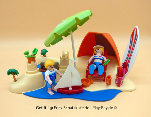 Playmobil® 4149 Kompaktset Strandurlaub (Get it @ PLAY-BAY.de)