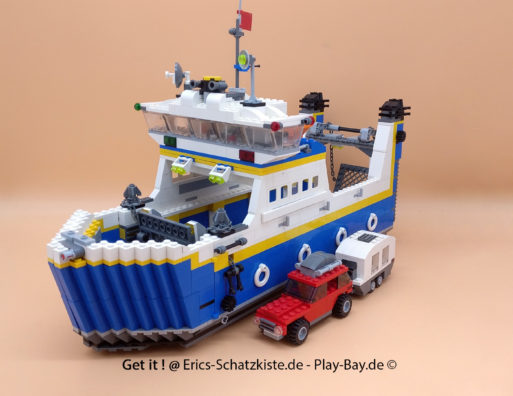 Lego® 4997 [Creator] Autofähre Transport Ferry (Get it @ PLAY-BAY.de)
