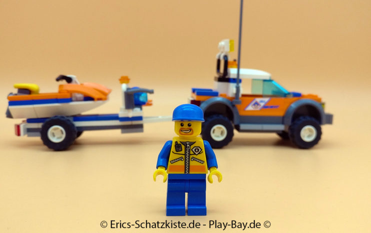 Lego® 7737 [City] Geländewagen der Küstenwache mit Wasserjet Coast Guard 4WD & Jet Scooter (Get it @ PLAY-BAY.de)