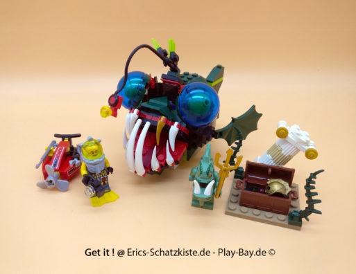 Lego® 7978 [Atlantis] Anfriff des Seeteufels Angler attack (Get it @ PLAY-BAY.de)