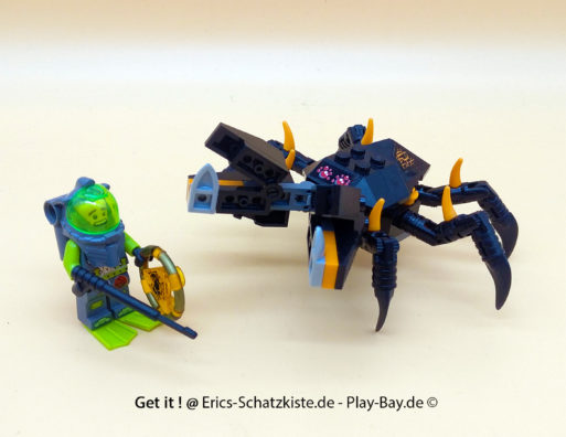 Lego® 8056 [Atlantis] Monsterkrabbe Monster crab clash (Get it @ PLAY-BAY.de)