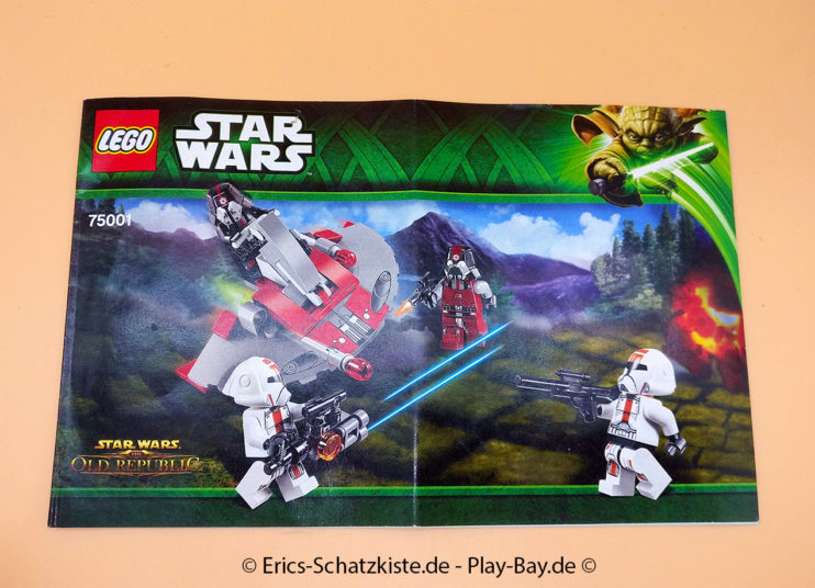 Lego® 75001 [Star Wars] Republic Troopers vs Sith Troopers (Get it @ PLAY-BAY.de)