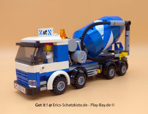 Lego® 7990 [City] Zementmischer Cement Mixer (Get it @ PLAY-BAY.de)