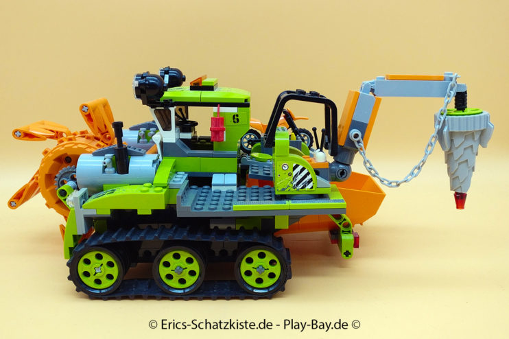 Lego® 8961 [Power Miners] Kristall-Sammler Crystal Sweeper (Get it @ PLAY-BAY.de)