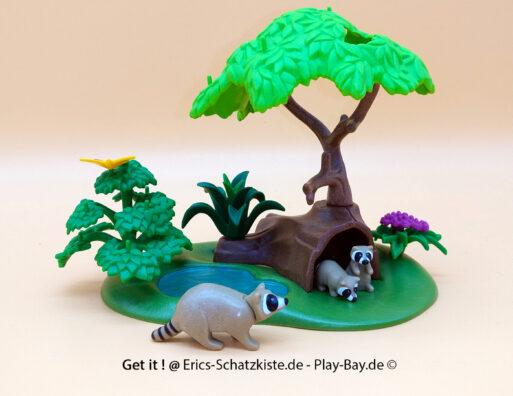 Playmobil®4205 Waschbärhöhle (Get it @ PLAY-BAY.de)
