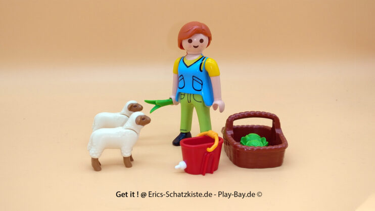 Playmobil® 4765 Bäuerin bei der Schäfchenfütterung (Get it @ PLAY-BAY.de)