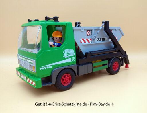 Playmobil® 3318 Containerdienst skip truck (Get it @ PLAY-BAY.de)