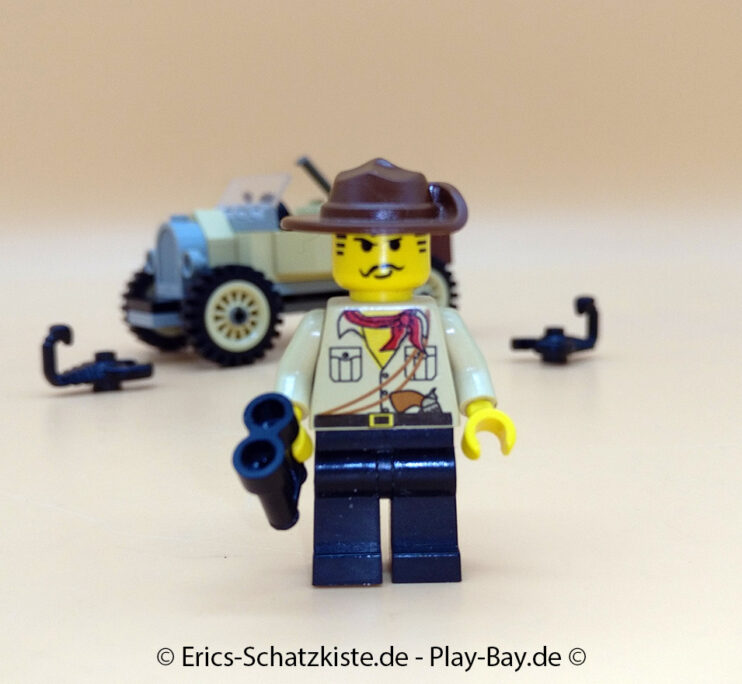 Lego® 5918 [Adventurers] Expeditions-Mobil Scorpion Tracker (Get it @ PLAY-BAY.de)