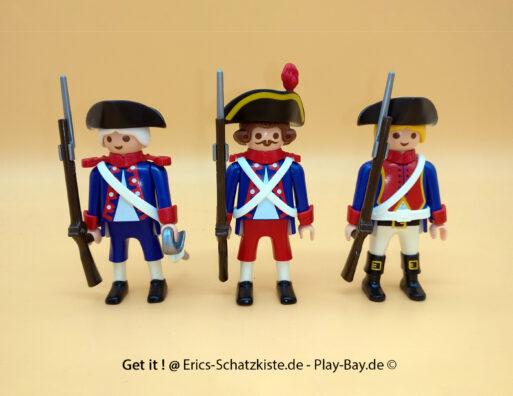 Playmobil® 6436 Französische Soldaten Blauröcke 3 french soldiers (Get it @ PLAY-BAY.de)