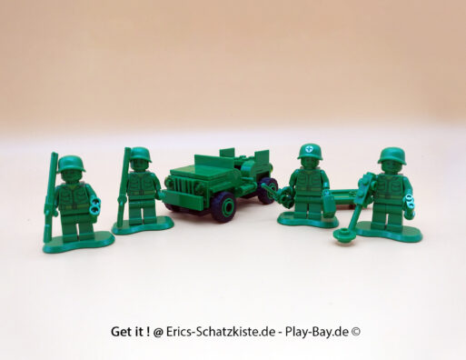 Lego® 7595 [Toy Story] Grüne Plastiksoldaten Army men on patrol (Get it @ PLAY-BAY.de)