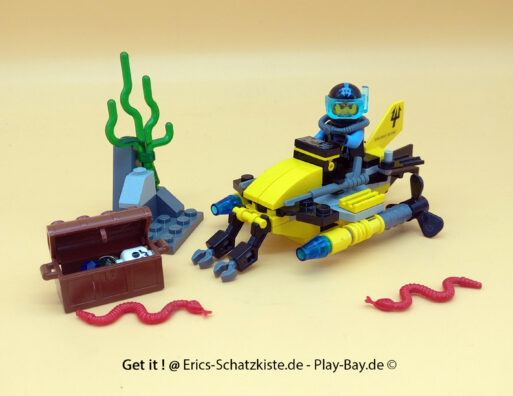 Lego® 7770 [Aqua Raiders] Tiefsee-Schatzusche Deep Sea Treasure Hunter (Get it @ PLAY-BAY.de)