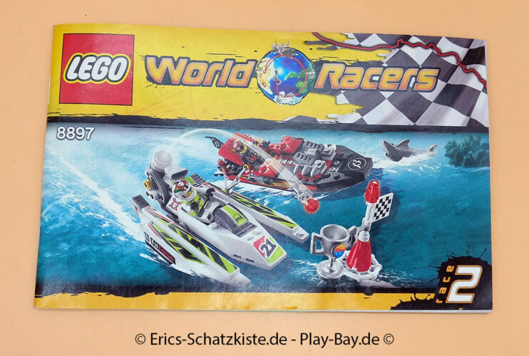 Lego® 8897 [World Racers] Entscheidung am Hai-Riff jagged jaws reef (Get it @ PLAY-BAY.de)