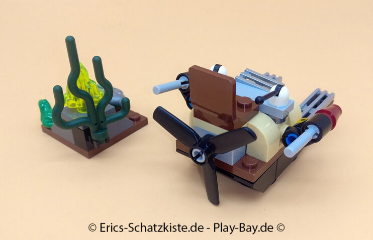 Lego® 9461 [Monster Fighters] Sumpfmonster The Swamp Creature (Get it @ PLAY-BAY.de)
