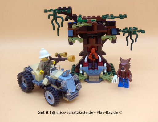 Lego® 9463 [Monster Fighters] Werwolfversteck The Werewolf (Get it @ PLAY-BAY.de)