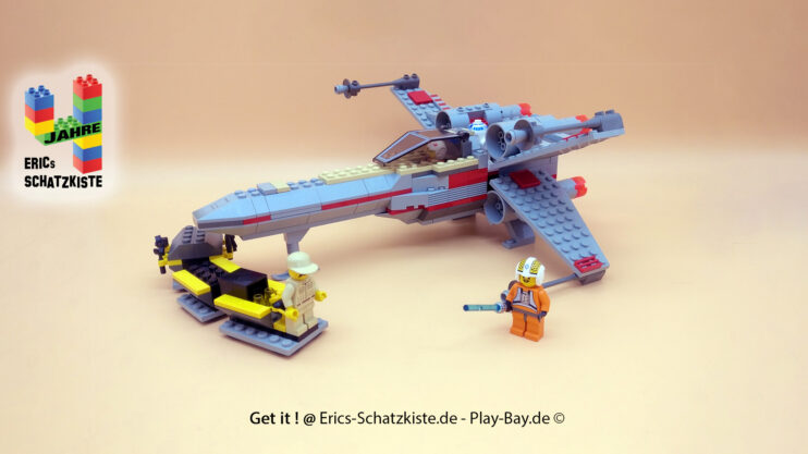 Lego® 7140 [Star Wars] X-Flügler X-Wing Fighter (Get it @ PLAY-BAY.de)