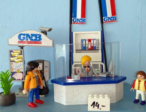 Playmobil®Bankschalter