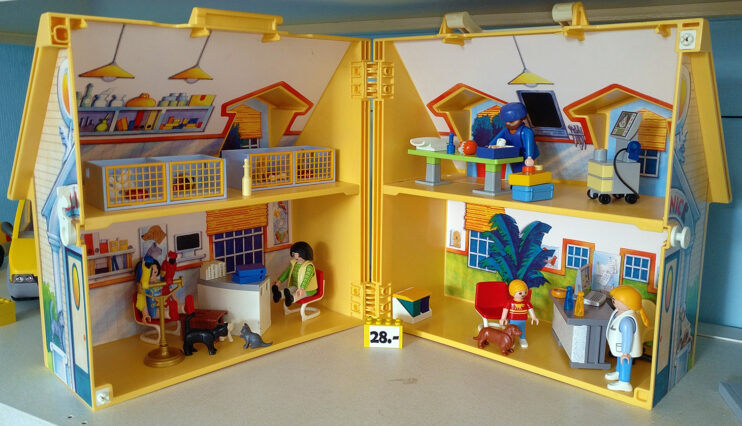Playmobil® Klapphaus Tierklinik
